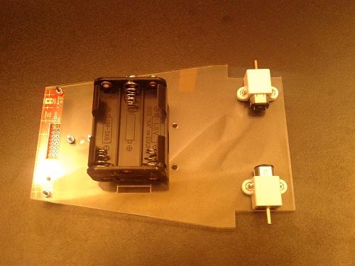 Platforma Robot LineFollower nivel competitie 21