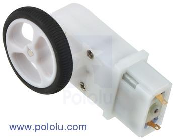Motor cu cutie de viteze 120:1 tip Pololu 1