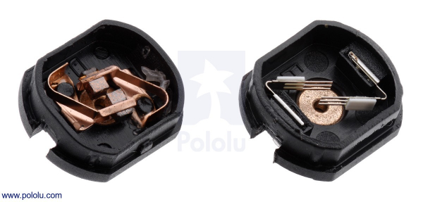 Motor electric micro metal 1000:1 HPCB cu ax pentru encoder (Perii De Carbon) [3]