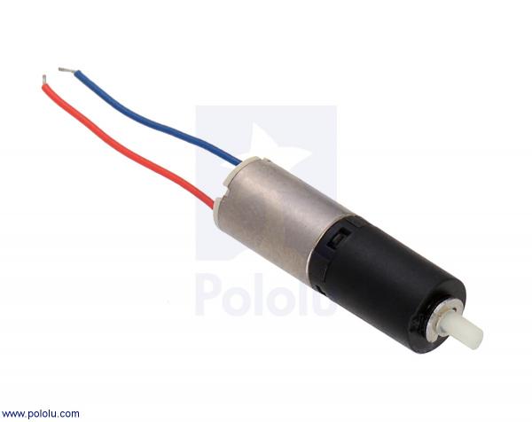 136:1 Sub-Micro Motor cu cutie de viteza 6Dx19L mm 0