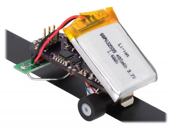 136:1 Sub-Micro Motor cu cutie de viteza 6Dx19L mm 1