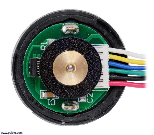 Motor 500 RPM 19:1 cu encoder Pololu 5