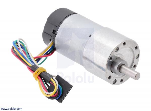 Motor 500 RPM 19:1 cu encoder Pololu 0