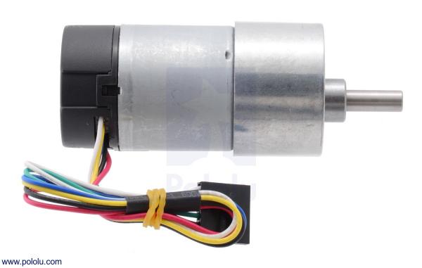 Motor 500 RPM 19:1 cu encoder Pololu 2