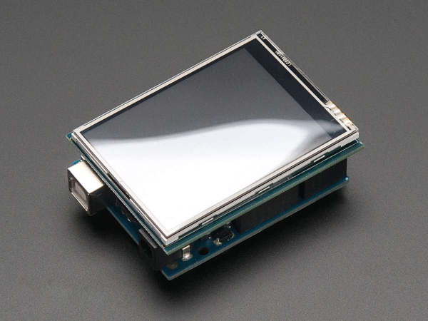 "2.8"" TFT Touch Shield for Arduino  Resistive Touch Screen 2"
