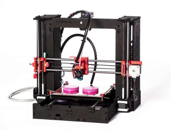 Imprimanta 3D Robofun 20-20-20, complet asamblata 6