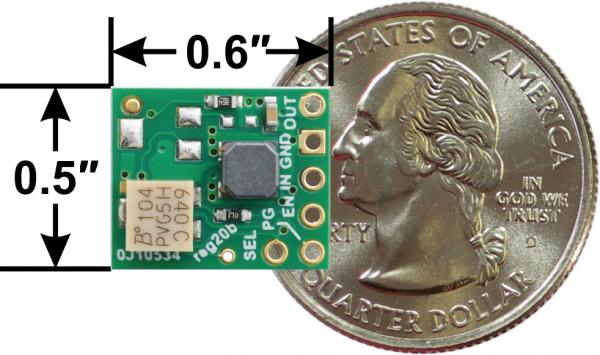 Regulator 3.3V Step-Up/Step-Down Voltage Cutoff ajustabil S9V11F3S5CMA [3]