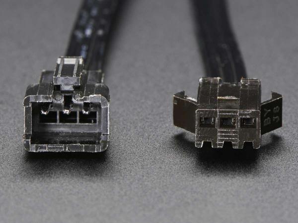 Cablu JST SM plug 3-pin + Cablu receptor [3]