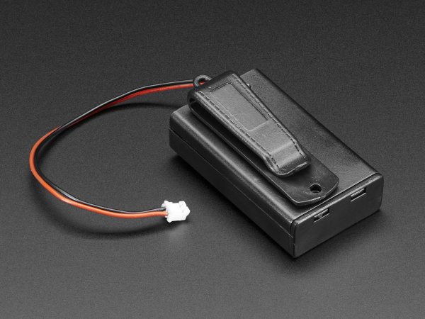 Suport pentru baterii 3xAAA cu switch si clema curea [0]