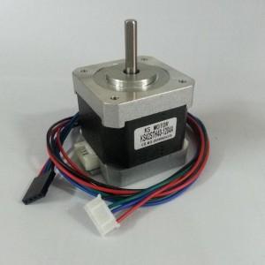 Motor Stepper Nema17 1.5A, 200 pasi, cu cablu 0