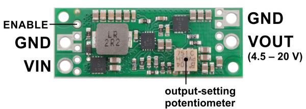Regulator Step-Up Pololu U3V70A de 4.5-20V 7A [1]