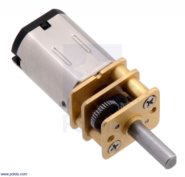 Motor electric micro metal 50:1 HPCB cu ax pentru encoder (Perii De Carbon) [0]
