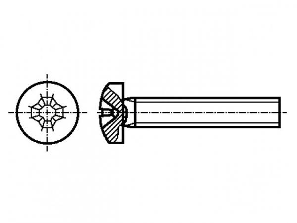 Surub otel 4mm  X 60mm (1 buc) 0