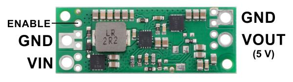 Regulator Step-up de 5V Pololu U3V70F5 1