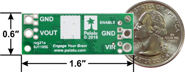 Regulator Step-up de 5V Pololu U3V70F5 2