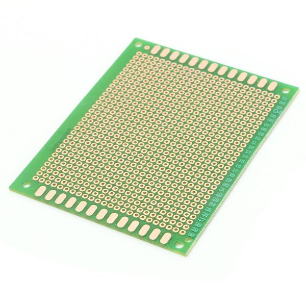 PCB prototipare dublu fata 7x9cm 0