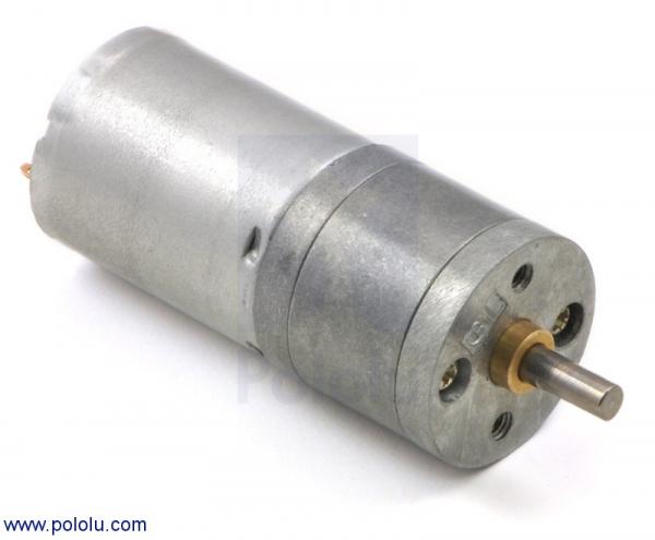 Motor metalic cu cutie de viteze 25Dx48L mm 9.7:1 HP [0]