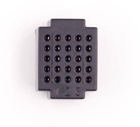Placa breadboard mini XF25 - Negru [0]