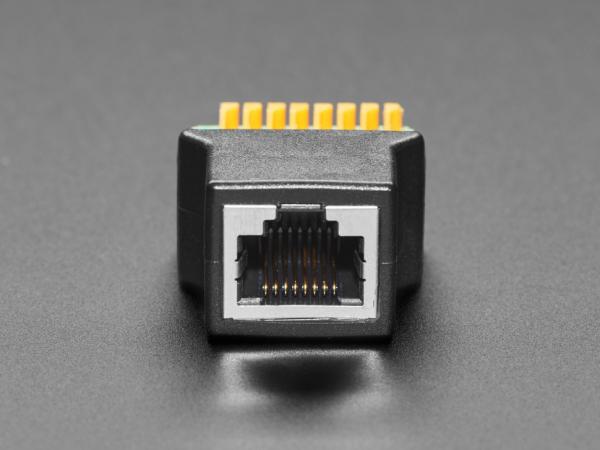 Adaptor priza RJ-45 Ethernet mama la bloc terminal cu arc [3]