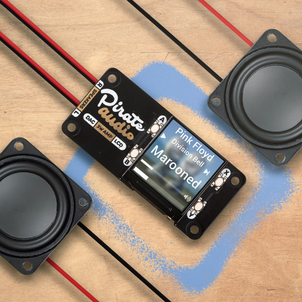 Amplificator Pirate Audio 3W Stereo Amp pentru Raspberry Pi 0