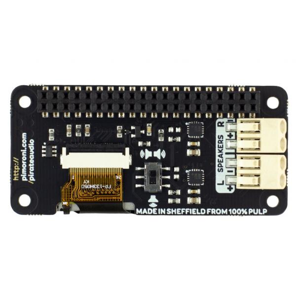 Amplificator Pirate Audio 3W Stereo Amp pentru Raspberry Pi 2