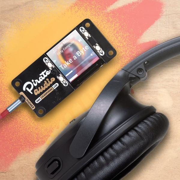 Amplificator casti de la Pirate Audio pentru Raspberry Pi 0