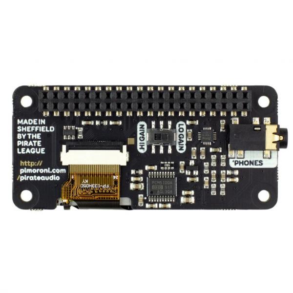 Amplificator casti de la Pirate Audio pentru Raspberry Pi 1