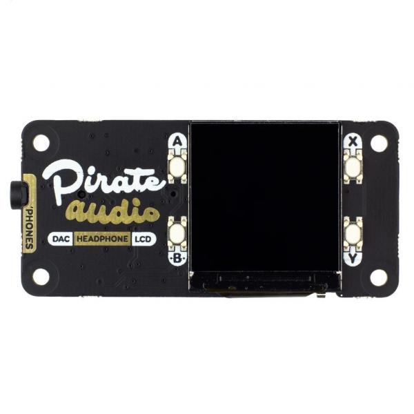 Amplificator casti de la Pirate Audio pentru Raspberry Pi 2