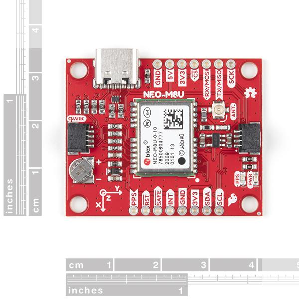 Breakout GPS SparkFun NEO-M8U cu UDR 1