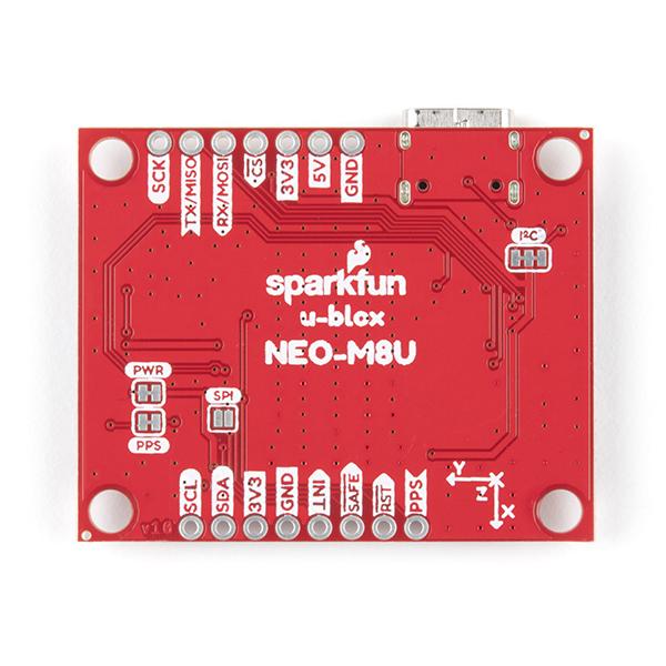 Breakout GPS SparkFun NEO-M8U cu UDR 2