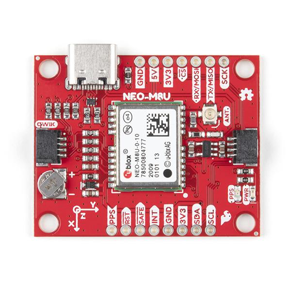 Breakout GPS SparkFun NEO-M8U cu UDR 3