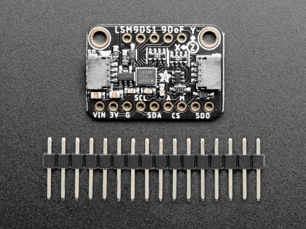 Breakout senzor miscare/directie/orientare Adafruit 9-DOF LSM9DS1 2
