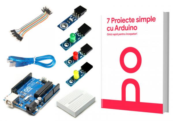 Kit pentru incepatori 7 Proiecte simple cu Arduino 0