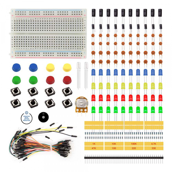 Kit componente starter varianta B pentru Arduino UNO [0]