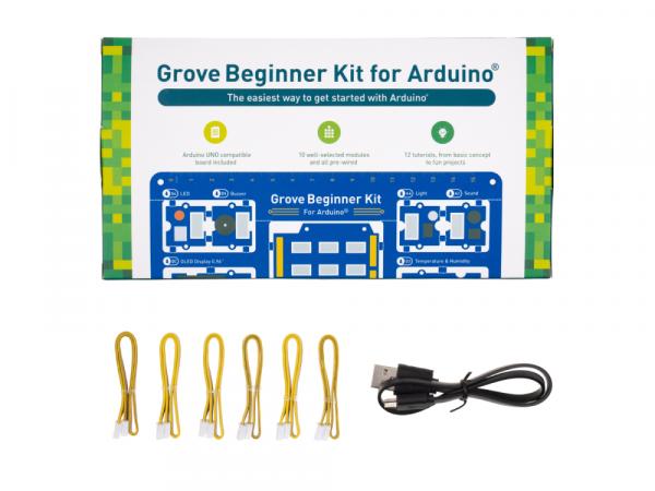 Kit Seed Studio Grove pentru Arduino pentru incepatori [5]