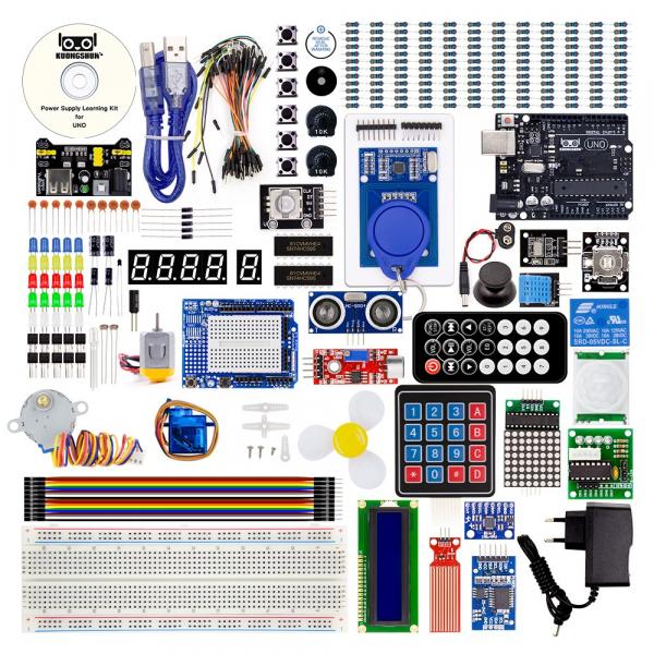 Kit introductiv complet pentru Arduino Uno [1]
