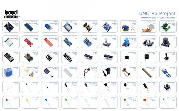 Kit introductiv complet pentru Arduino Uno [3]