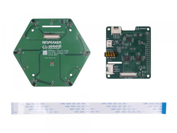 Kit matrice 6 microfoane Seed Studio ReSpeaker pentru Raspberry Pi [0]