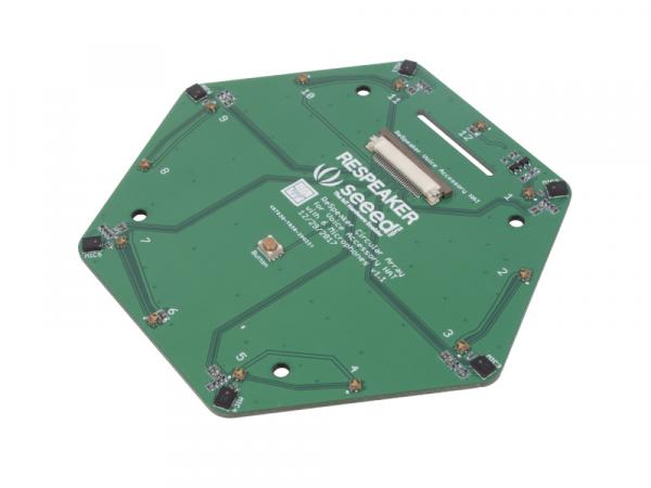 Kit matrice 6 microfoane Seed Studio ReSpeaker pentru Raspberry Pi [3]