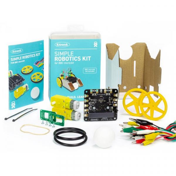 Kit robotica Kitronik Simple pentru BBC micro:bit [3]