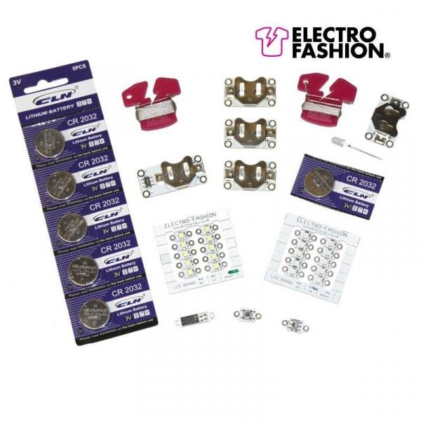 Kit textile electronice Kitronik Electro-Fashion Discovery 0
