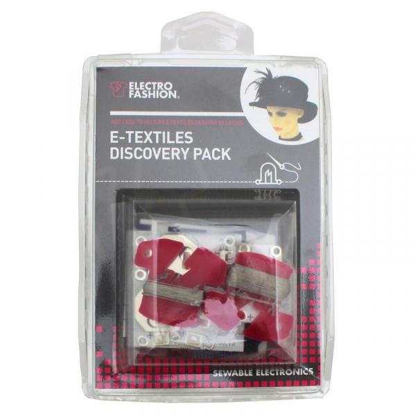 Kit textile electronice Kitronik Electro-Fashion Discovery 1