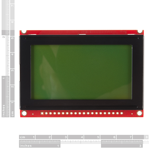 Modul LCD 128x64 STN cu LED Backlight 1