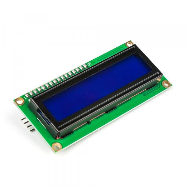 Modul afisaj LCD cu lumina de fundal albastra si I2C 0
