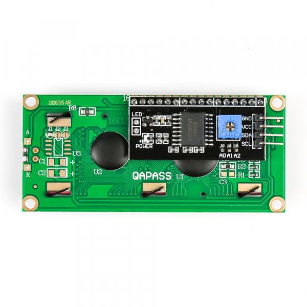 Modul afisaj LCD cu lumina de fundal albastra si I2C 7