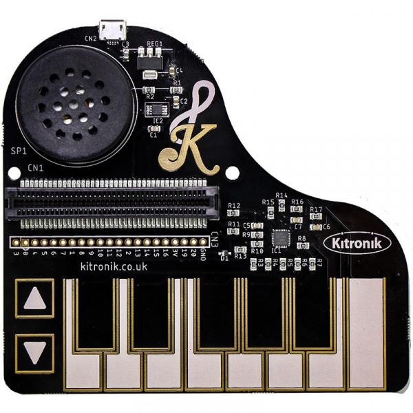 Modul pian monofonic Kitronik :KLEF Piano pentru BBC micro:bit 0