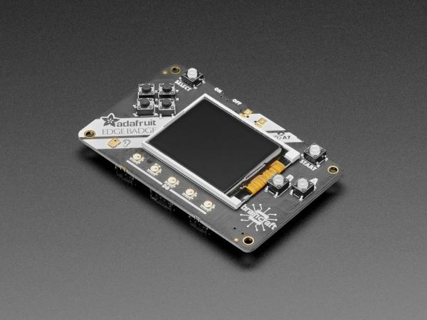 Placa Adafruit EdgeBadge TensorFlow Lite pentru microcontrollere 2