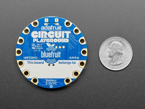 Placa dezvoltare Adafruit Circuit Playground Bluefruit cu BLE [5]