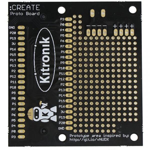 Placa prototipare Kitronik CREATE pentru BBC microbit 0