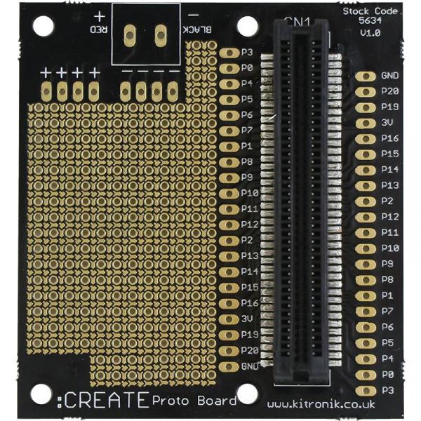 Placa prototipare Kitronik CREATE pentru BBC microbit 1
